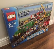 Genuine LEGO® City 7898 Cargo Train Deluxe. Very Rare