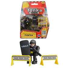 Tonka Town Tony the Tonka Town SWAT policeman Toy Mini Figure With Accessories