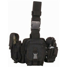 CONDOR MOLLE GP Tactical Utility Drop Leg Rig Pouches ma25 - BLACK