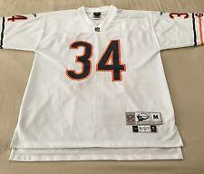 Walter Payton NFL Chicago Bears Reebok Throwback Jersey Men M White