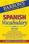 Spanish Vocabulary (Barron's Foreign Language Guides), Dueber, Julianne