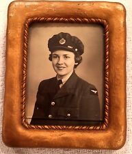 Studio Portait RCAF enlisted woman WWII