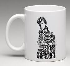 BBC Sherlock Holmes Benedict Cumberbatch 11oz. Coffee Mug Tea Cup Gift