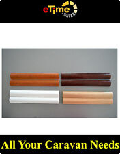 Cappings moulding timber  - white color for Caravan Motorhome boat