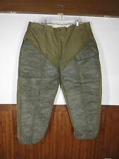 vtg Men's Duxbak RARE Olive Bird Duck Hunting Brush Pants 20s/30s sz 46 M