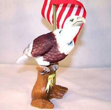 2 BOBBING HEAD EAGLE W FLAG car toys american eagles dash bobble heads bounce