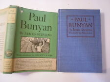 Paul Bunyan, James Stevens, Woodcuts by Allen Lewis, SIGNED, 2nd, 1948
