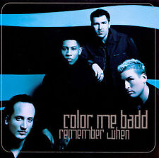 Remember When [#2] [Single] by Color Me Badd (CD, Jul-1998, Sony Music)