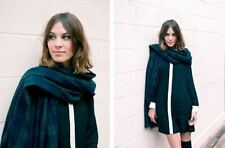 Alexa Chung for Madewell Bunny Black and White Collar Dress - Size Medium APC