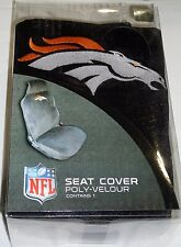 NFL NIB CAR SEAT COVER - DENVER BRONCOS