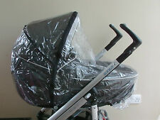 New RAINCOVER Zipped to fit Babystyle Oyster Carrycot & Seat unit Pushchair