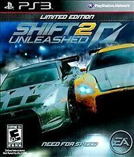 Shift 2: Unleashed Limited Edition PS3 (Sony PlayStation 3, 2011) COMPLETE