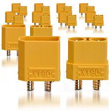 Hochstrom XT90 Stecker Buchse Goldkontaktstecker 10 Paar partCore 100149