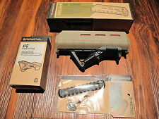 "Magpul ELITE Remington 870 Forend w Angled Foregrip AFG & 5"" Rail Desert TAN"
