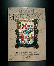 COMICS: Marvel Masterworks: The X-Men #1-10 hardcover - RARE  (figure/wolverine)