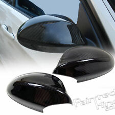 06-08 BMW E90 REAL 3D GLOSSY CARBON FIBER SIDE MIRROR COVER CAP