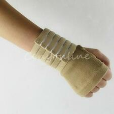 Skin Tone Open Hand Palm Adjust Wrist Support Wrap Bandage Arthritic Pain Injury