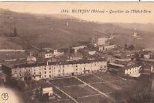 BEAUJEU 1382 quartier de l'hôtel-dieu timbrée
