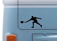 Tenis hombre #1 Vinilo calcomanía adhesivo con el logotipo de tenis de Wimbledon Camper VW insignia de van