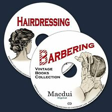 arbering & Hairdressing Vintage Books Collection 36 PDF E-Books on 2 CD Cutting