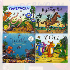 Julia Donaldson Collection Superworm & Other Stories 4 Classic Books Set Pack PB