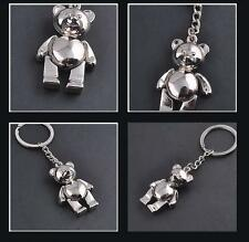 Women Cute Bears Keychain Keyring Purse Charm Key chain Gift 1PCS Key Chain Toy