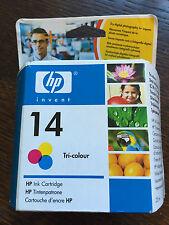 HP 14 Tri-colour Inkjet cartuccia di stampa (nuovo e sigillato)