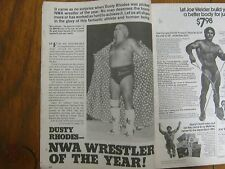 1977 Wrestling Review(DUSTY RHODES/LADY  APARTMENT  WRESTLING/ANDRE  THE  GIANT)