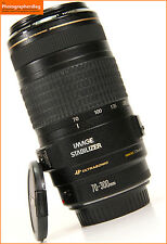 Canon ef 70-300mm IS USM F4-5.6 Is Zoom Lente + Free UK Post