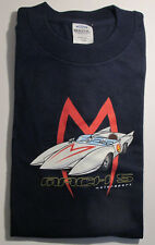 "Speedracer ""Mach-5 Motorsport"" Tee D. Blue Mens Large Tultex-JE"
