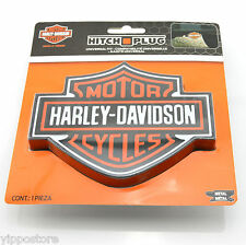 Harley Davidson Cycles Logo Trailer Hitch Plug Cover Universal Hitch Receiver