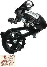 SHIMANO RD-M310 ALTUS 7/8 SPEED BLACK DIRECT MOUNT REAR DERAILLEUR-WITH PACKAGE