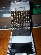 19 acero inoxidable perforador HSS-co din 338 sortimentbox 1-10mm en incrementos 0,5mm