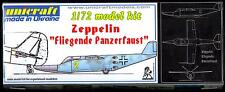 Unicraft Models 1/72 ZEPPELIN FLIEGENDE PANZERFAUST Parasite Fighter Prototype
