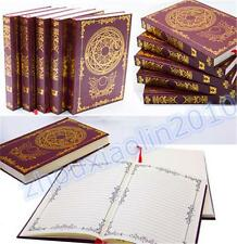 Anime Card Captor Sakura Figure Cosplay Magic Notebook Diary Durable Clow Book