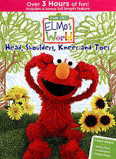 Sesame Street Elmo's World: Head, Shoulders, Knees and Toes DVD Ships in 12hr!!!