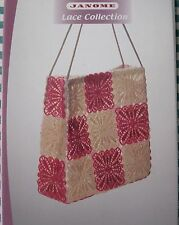 Janome Embroidery Card. Lace Collection.