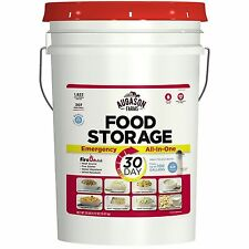 Augason Farms 30-Day Food Storage Emergency All-in-One Pail NEW