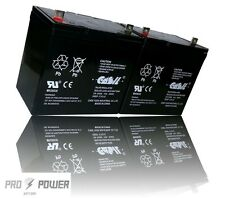 (2) Casil 12v 55ah for Sealed AGM Battery Group 22NF