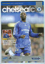 Chelsea v Reading - Premiership - 30/1/08 - Football Programme