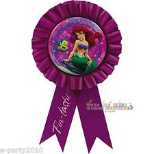 LITTLE MERMAID Ariel BIRTHDAY GUEST of HONOR RIBBON ~ Party Supplies Princess