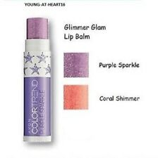 AVON COLOR TREND CORAL SHIMMER SPARKLE LIP BALM ~ NEW & SEALED *** FREE P&P ***