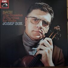 SLS 818 Bach Sonatas & Partitas for Violin / Josef Suk 3 LP box