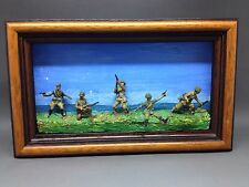 Miniature Soldiers Diorama - Framed (no 7)