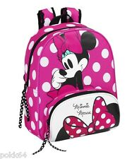 Disney Mickey sac à dos Minnie Mouse M cartable maternelle 34 x 28 cm 215089