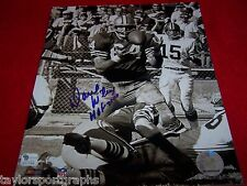 DAVE WILCOX Signed 8X10 SANFRANSICO 49ERS RARE Photo GLOBAL AUTHENTIC CERTIFIED