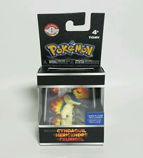 NEW 2015 Tomy Pokemon Cyndaquil Figure Trainers Choice, Display Case Series 1