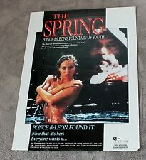 Spring 1989 Dack Rambo Ponce deLeon Fountain of Youth GGA PROMO Video Poster VG