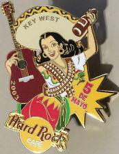 Hard Rock Cafe KEY WEST 2003 Cinco De Mayo PIN Sexy Senorita Girl - HRC #17987