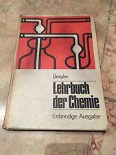 Antiquität Buch Schulbuch Chemie Bergler Einbändige Ausgabe